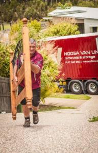 Dave unloading