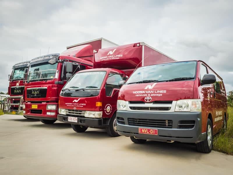 Noosa Van Lines Fleet