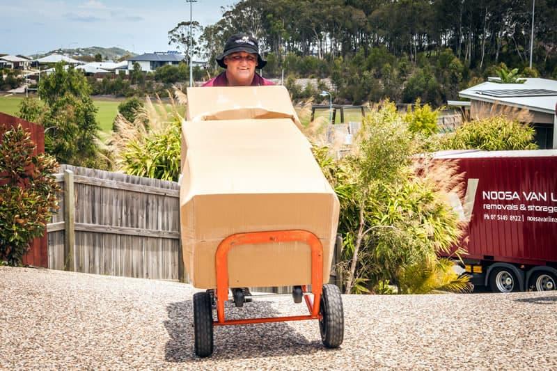Unloading in Brisbane